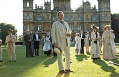 Downton Abbey period TV series 1912 - English Country House