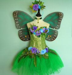 Fairy Costume  BUTTERFLY costume  adult fairy by FairyNanaLand, $350.00