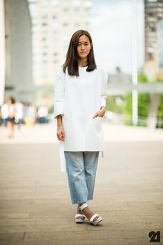 WHO Women Maria Nguyen  WHAT COS H  WHERE USA New York City Manhattan Upper West Side  WHEN Spring/Summer 2013