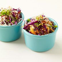 Weight Watchers Citrus Asian Slaw. 2 points+ per serving...looks interesting!!
