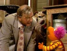 """Written by Ryan Dosier. GOBO FRAGGLE Performed by… Jerry Nelson First appearance… Fraggle Rock Episode """"Beginnings"""" Most recent appearance… The Muppets Cel… 90s Childhood, Childhood Memories, Clever Dog, Underground World, Fraggle Rock, Change Of Address, Jim Henson, Street Photo, Favorite Tv Shows"""