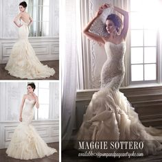 Paulina from @maggiesottero 2015 Spring Collection