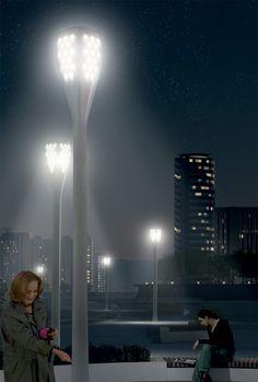 Iluminação Urbana Sustentável-A tecnologia ainda está em fase experimental, mas deve ser implementada para fase de testes em breve. Pode ser uma boa fonte de inspiração em termos de soluções urbanas sustentáveis
