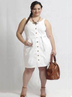 Vestidos de verano casuales para gorditas 6 Plus Size Maxi Dresses, Plus Size Outfits, Casual Dresses, Fashion Dresses, Casual Outfits, Plus Size Fashion For Women, Plus Size Womens Clothing, Dress Skirt, Shirt Dress