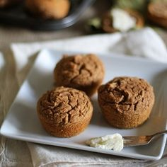 Gluten Free Sweet Potato Muffins #glutenfree #wellandgood