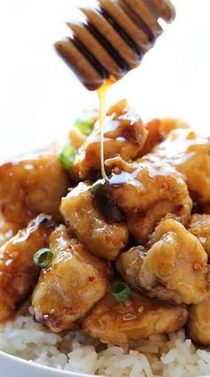 Asian Honey Chicken  To make gluten free, I just substitute cup4cup gluten free flour.