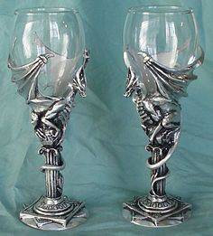 1000 images about beware of dragons on pinterest celtic dragon dragon tattoos and dragon - Pewter dragon goblet ...