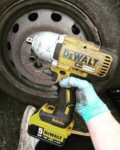 Working in the vehicle repair industry. This dewalt 1/2 inch impact gun is easily the best investment I've ever made. The guy is like my best friend.  #work #mechanics #mechanic #automotive #technician #trade  #industry #impact #dewalt #xr #tools #friends #bestfriend #companion #dirty #doesmoreworkthanme