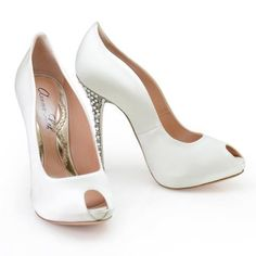 9ff031ba575b Candy style in White Leather by Aruna Seth Bridal Shoes