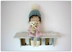 Amigurumi Haak Doll  Leah door Rusi poppen
