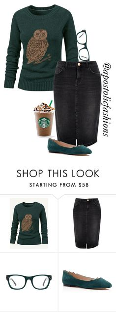 """Apostolic Fashions #1070"" by apostolicfashions ❤ liked on Polyvore featuring moda, Fat Face, River Island, Sam Edelman, women's clothing, women, female, woman, misses y juniors"