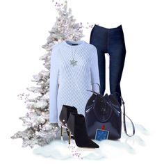 Winter blues with #leatherlook #printallover #leggings #zazzle #fashionlook