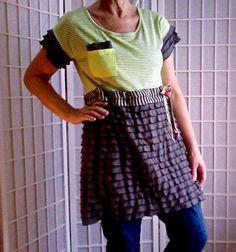 75  Feminine Mini Dress Lolita Jeans Top Women's Teen by ArtzWear