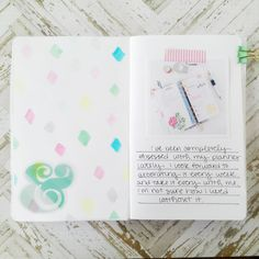 planner obsessed art journal  by hopscotchlane