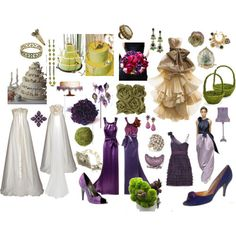 Purple and Green....A Midsummer Night's Dream