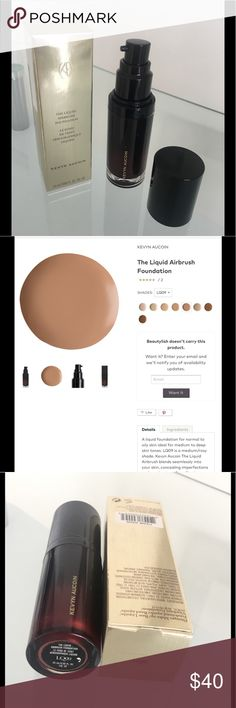 Selling this Kevyn Aucoin Liquid Airbrush Foundation on Poshmark! My username is: dolceluxe. #shopmycloset #poshmark #fashion #shopping #style #forsale #Kevyn Aucoin #Other