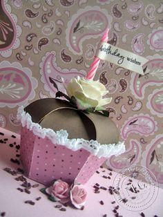 Scrappin Cookie: Birthday Sundaes Challenge #6 - 3D Cupcake