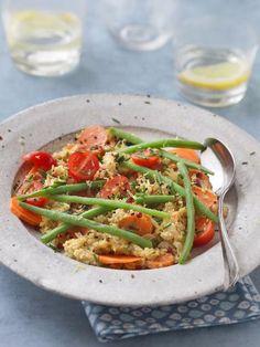 Recette de Wok de quinoa façon max