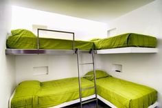 Simple and minimal bunk bed plan