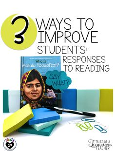 This is my second throw back post that I originally shared over on iTeach Take a look to help your students improve in their respondin. Reading Response, Reading Skills, Teaching Reading, Guided Reading, Fun Learning, No Response, Text Based Evidence, 5th Grade Reading, Teaching Language Arts