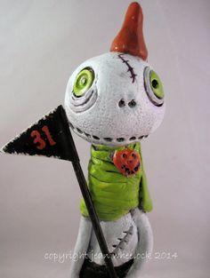 Handmade Whimsical Folk Art Character by Treasuresnwhimsy on Etsy