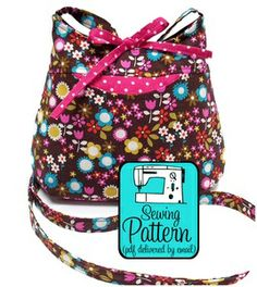 Cross-Body Bag PDF Sewing Pattern by Michelle