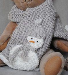 Completo Sciarpa e Cappello Omino di Neve Crochet Poncho Patterns, Crochet Scarves, Baby Knitting Patterns, Knit Crochet, Crochet Hats, Baby Boy Knitting, Diy Scarf, Crochet Baby Clothes, Knitting Accessories