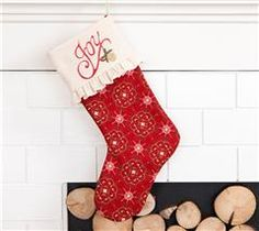 Deck the halls with custom stockings!