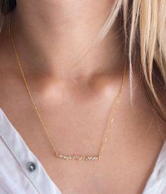 Colorful Diamond Necklace
