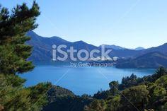 Kenepuru Sound, Marlborough, NZ Royalty Free Stock Photo Maori Legends, Marlborough Sounds, Image Now, Royalty Free Stock Photos, Beach, Water, Photography, Outdoor, Gripe Water