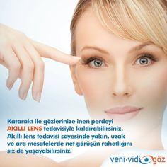 Akıllı lens tedavisi ile görüşünüzü netleştirin.