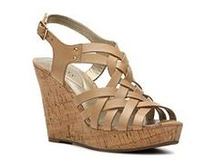 Guess Eppie Wedge Sandal - DSW
