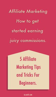 Need to know - affiliate marketing schemes.