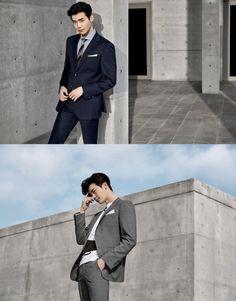 Lee Jong Suk looks stylish in a dress suit for 'SIEG FAHERNHEIT' | allkpop.com