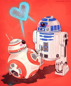 "And we are shipping SO many great Star Wars couples! | What ""Force Awakens"" Fan Art Do You Want Us To Draw?"
