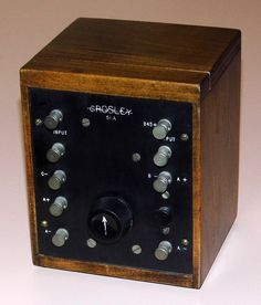 https://flic.kr/p/SB369K | Vintage Crosley Amplifier, Model 51A, 1 Vacuum Tube, Designed For Use With The Crosley Model 51 Receiver, Made In USA, Circa 1924 | Auction Item 185
