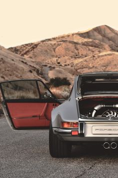 More than any car I really really want a classic Porsche like this Porsche 911 Singer