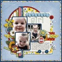 A Project by Kim Gehring from our Scrapbooking Gallery originally submitted 08/10/12 at 09:22 AM