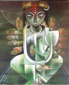 : : Welcome to Veranda Art : :ujjwal debnath ganesh janini