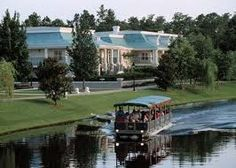 One of the best things about Riverside is that you can take the river boat to Downtown Disney