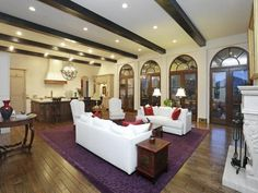 9 foot ceiling kitchen open concept - Google Search