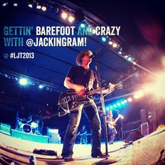 Barefoot & Crazy with #JackIngram at #LJT2013 for #TTX