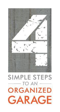 4 Simple Steps to an Organized Garage - Richmond American Homes' Blog