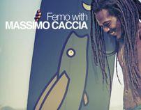 Femo with M. Caccia by Giulia Bartolucci, via Behance