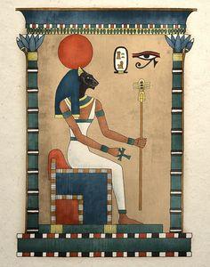 Egyptian Goddess Bastet hanging--ebay