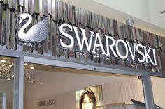 Вывеска магазина SWAROVSKI   Новости, Индустрия Рекламы