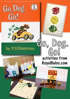 Go, Dog. Go! Activities from Royal Baloo