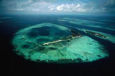 Java Sea, Indonesia Aerial view of islands and reefs in the Java Sea. Indonesia Indonesia Indonesia #Indonesia, #Java