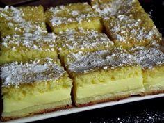 Csak a saját felelősségedre süsd meg, mert hamar a rabja lehetsz! Hungarian Desserts, Hungarian Recipes, Pie Dessert, Dessert Recipes, Sweet Cooking, Czech Recipes, Romanian Food, Something Sweet, No Bake Cake