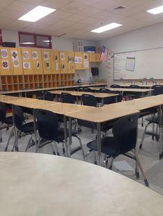 Artifact 1.8 - An open classroom plan that allows for student engagement